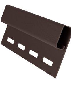 Планка финишная Grand Line пластиковая коричневая