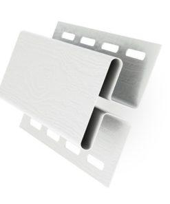 H-профиль, соединитель Grand Line пластиковый белый