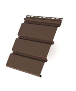 Софит T3 без перфорации Grand Line 3,0 коричневый (slim)
