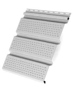 Софит T4 полностью перфорированный Grand Line 3,0 белый