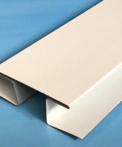 H-профиль металлический белый