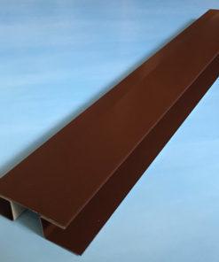 H-профиль металлический коричневый