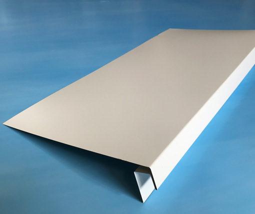 J-фаска металлическая белая