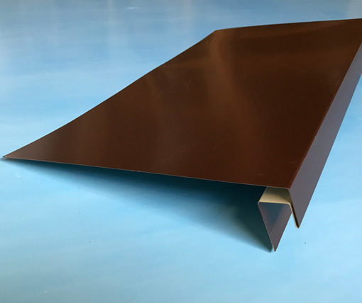 j-фаска металлическая коричневая
