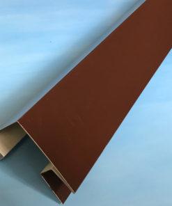 Угол наружный металлический коричневый